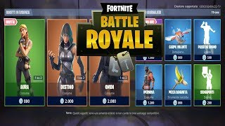 """SHOP"" MAY 08/05 NEW SKIN AURA AND GILDA! FORTNITE NEGOZIO DAILY"