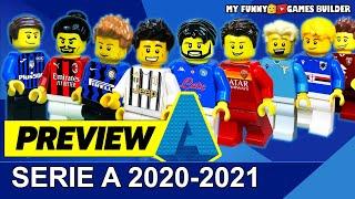 Serie A 2020 21 preview in Lego Football Anteprima Italia Serie A TIM 2020 21 in Lego Calcio