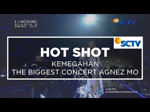 Kemegahan Konser The Biggest Concert Agnez Mo - Hot Shot 16/10/15