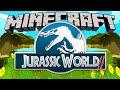 NEW!! Minecraft Jurassic World 2: EPiC START! [Jurassic Craft Mod] #1