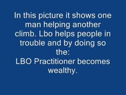 LBO business and property acquisition. No Cash down LBO Acquisitions wmv