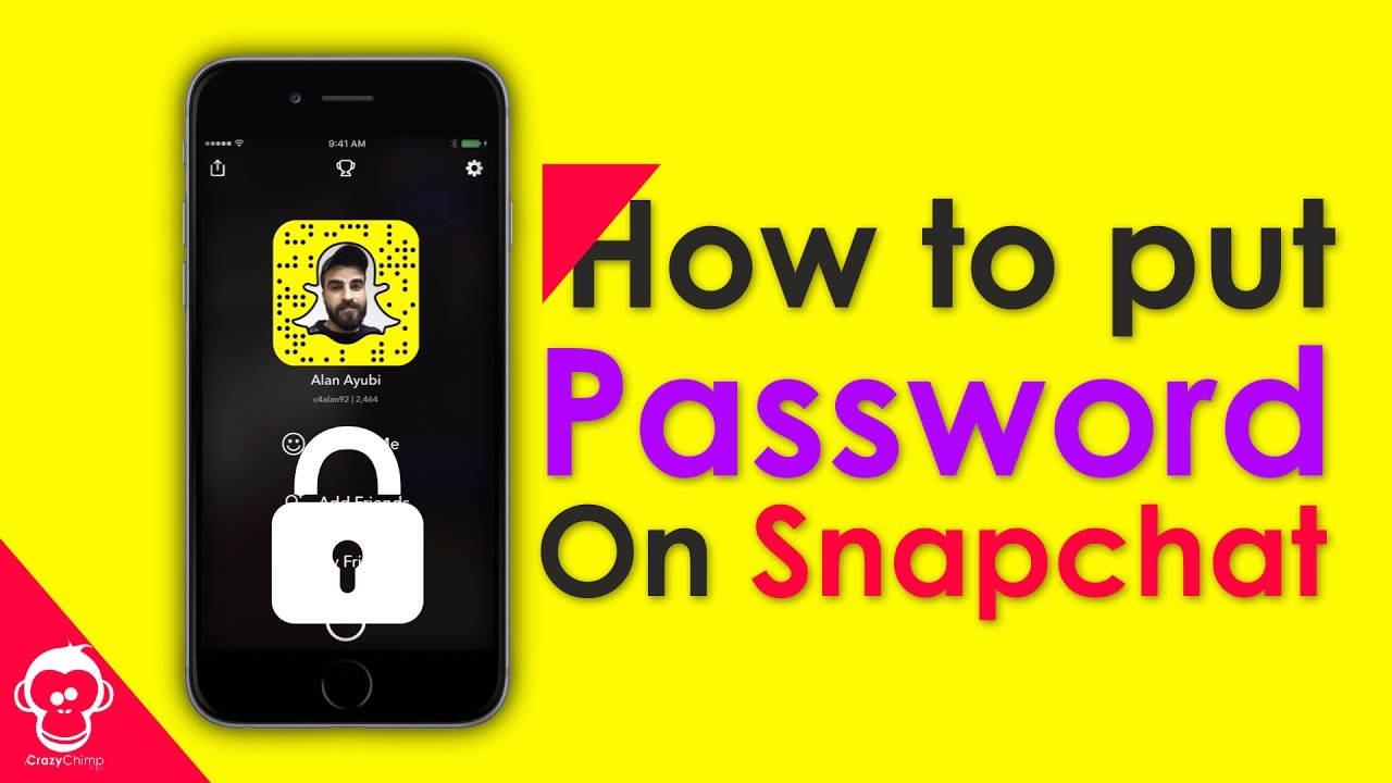 How To Put Password On Snapchat Memories Iphone And Android ��