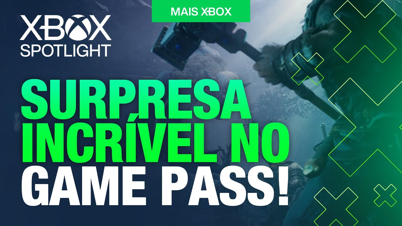 XBOX SPOTLIGHT! QUE SURPRESA INCRÍVEL NO GAME PASS que irá chegar em BREVE!