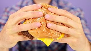 The Right Way To Hold A Burger According To Science
