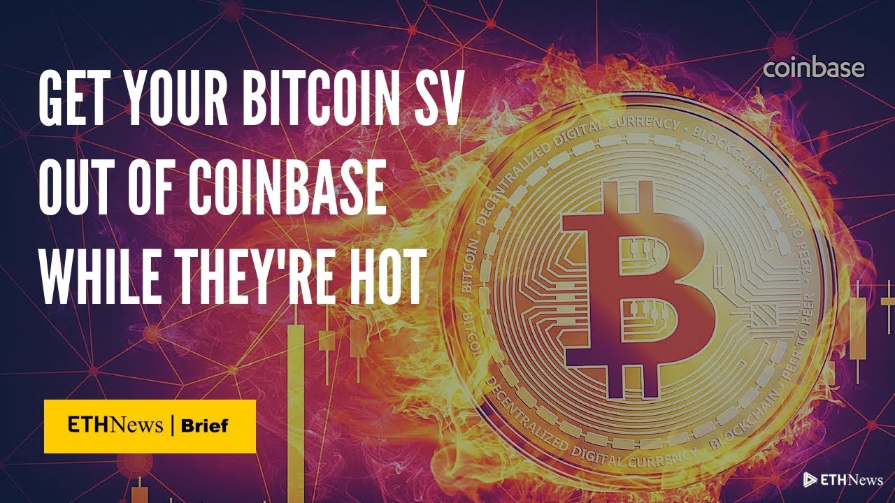 how to sell bitcoin sv cryptocurrency on coinbase
