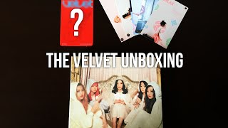 Red Velvet The Velvet Unboxing