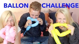 BALLON CHALLENGE mit Bibi, Dagi & Timo | Julienco