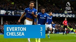 Everton v Chelsea (3-1) | Premier League highlights