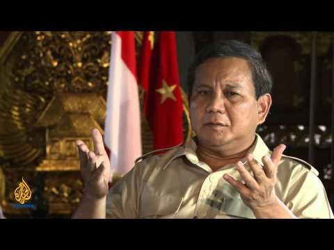Talk to Al Jazeera: Prabowo Subianto
