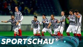 DFB-Pokal: Frankfurt besiegt Ingolstadt nach Elfmeterschießen | Sportschau
