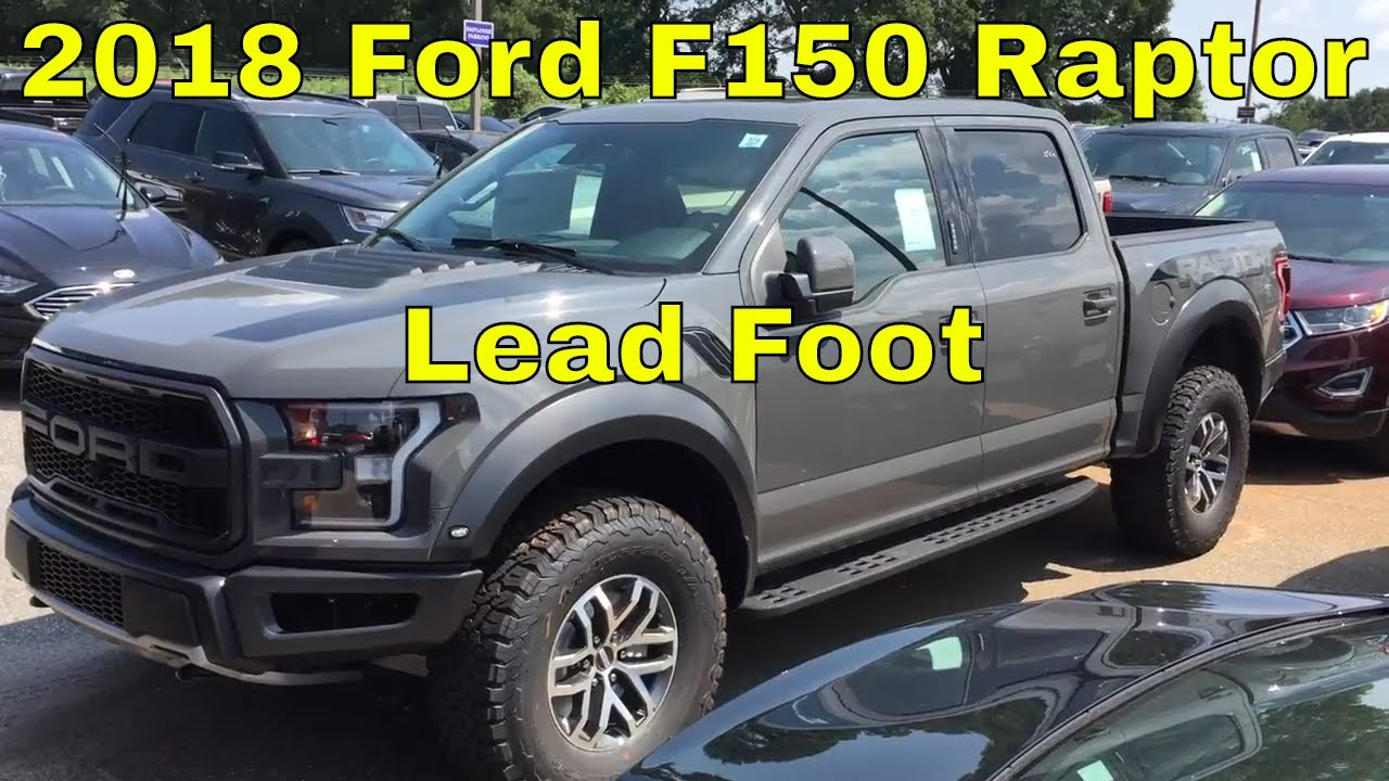 2018 ford raptor lead foot. unique raptor 2018 ford f150 raptor  lead foot color exterior walk around throughout ford raptor lead foot r
