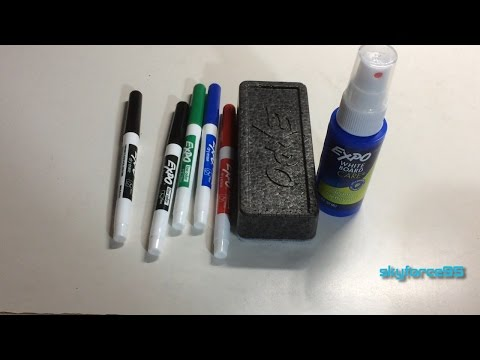 expo-dry-erase-set-unboxing-&-review