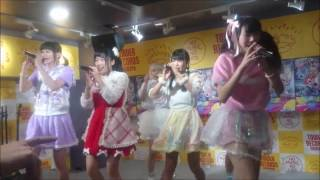 天晴れ!原宿の1st アルバム『APPARE! WORLD』リリイベのライブ動画です...