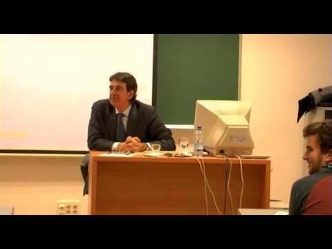Conferencia de D. Francisco Serrano (2): Experiencias de gestión cultural.