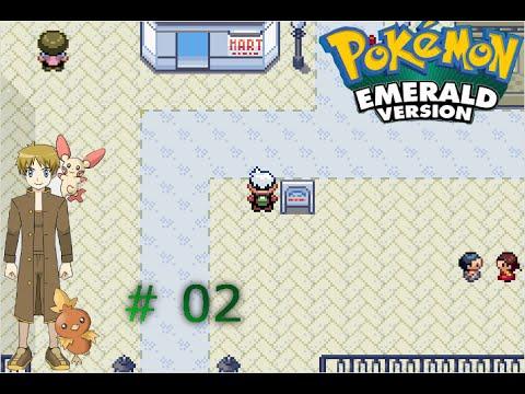 Let's Play : Pokemon Emerald Version - Part 2 - Rustboro ...