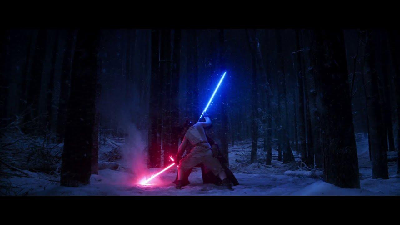 Star Wars Tfa Rey Vs Kylo Ren Hd
