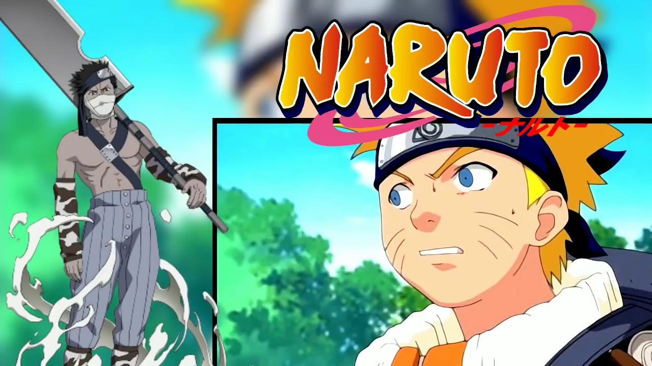 Какаши, Наруто и Саске против Забузы #1 - YouTube