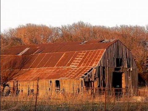 Oil boom town of Avant, Oklahoma