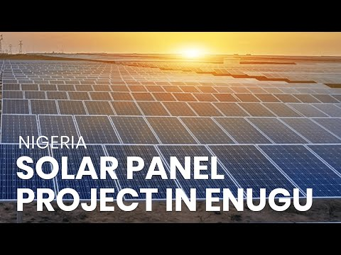 Solar Panel Project in Enugu - Nigeria