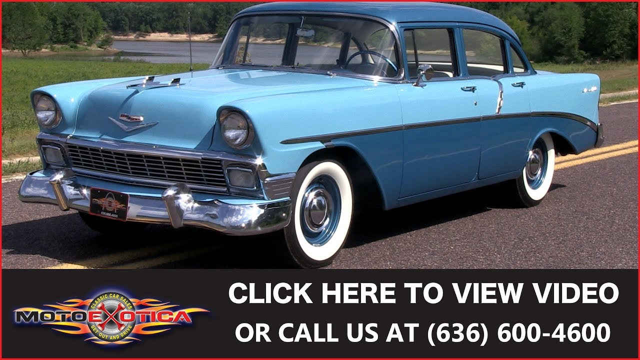 1956 Chevrolet 210 Sold Youtube