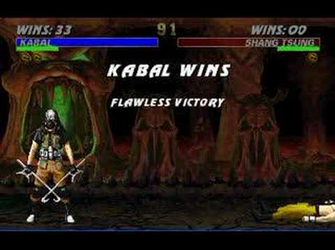 Mortal Kombat 3: Kabal Finishing Moves - YouTube