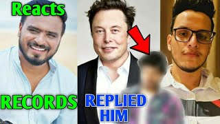 Amit Bhadana Father Saab Song RECORDS! | Elon Musk Replied This YouTuber, Triggered Insaan, Elvish |