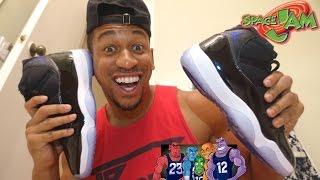 Space Jam Jordans Giveaway | VLOGMAS 11
