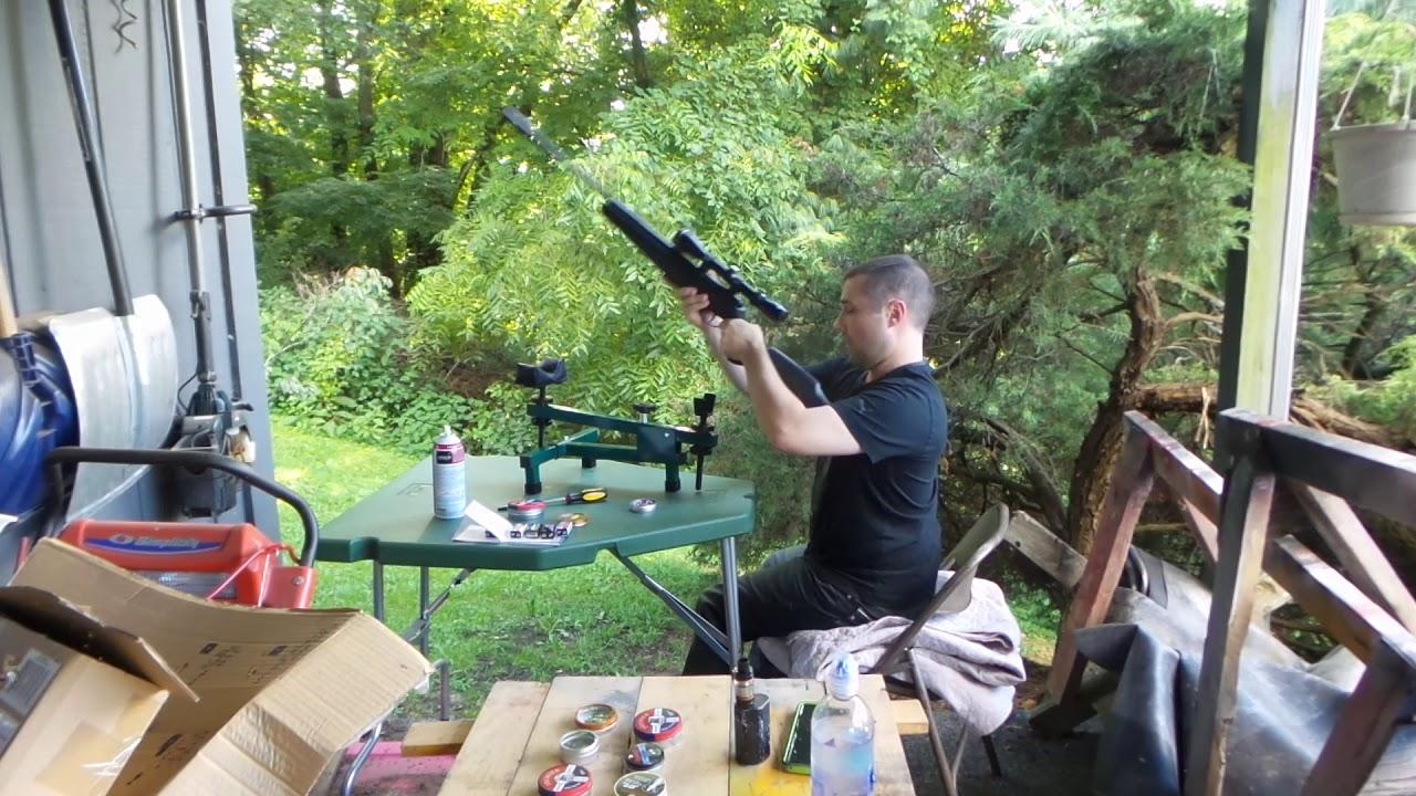Crosman F4 pellet rifle review Walmart exclusive
