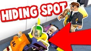 FAKE BODY HIDING SPOT IN ROBLOX MM2