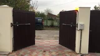 видео Купить распашные ворота в Екатеринбурге. Цены на распашные ворота