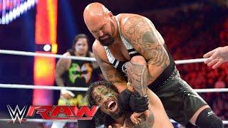 The Usos vs. Luke Gallows & Karl Anderson: Raw, April 25, 2016