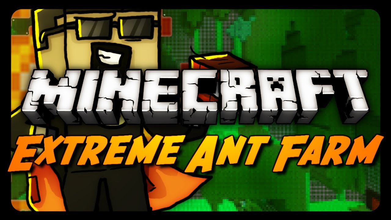 Ant farm survival map for minecraft [1. 8. 2/1. 8. 1/1. 8/1. 7. 10].