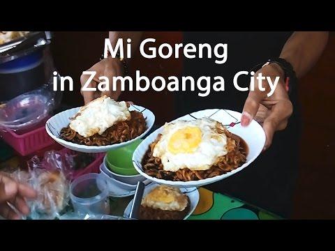 Mi Goreng Street Food in Zamboanga City Philippines