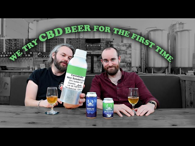 Beer Log: we try CBD beer for the first time | The Craft Beer Channel