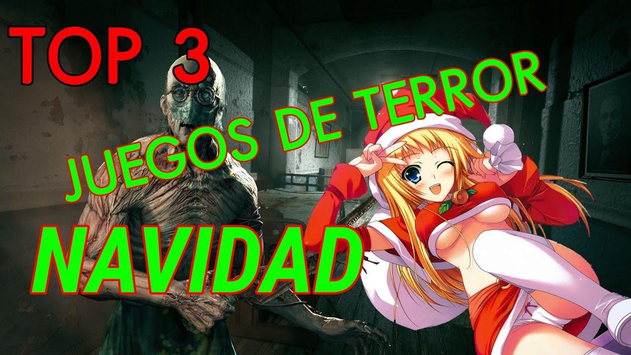 Top 3 Juegos De Terror Para Navidad 2018 4k Youtube