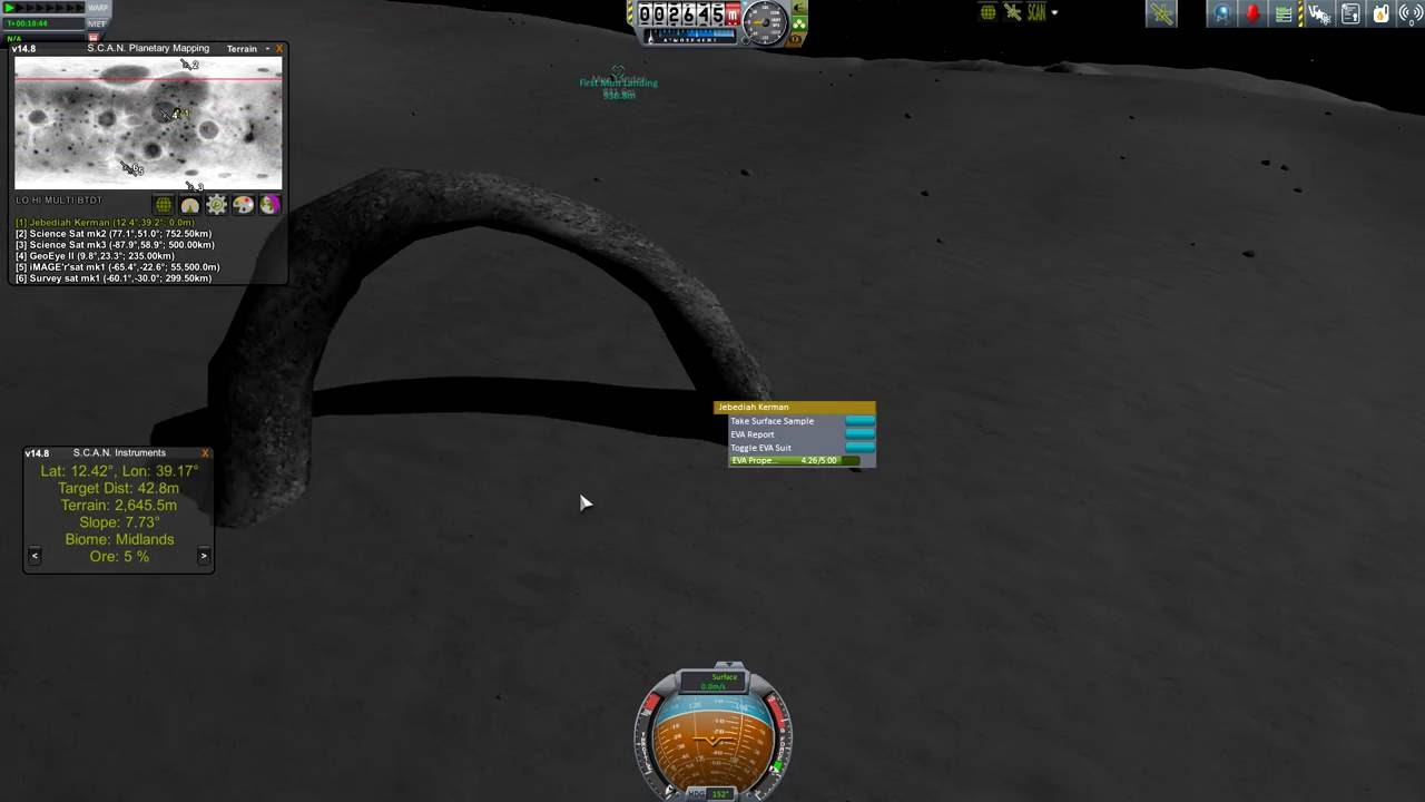 Kerbal Space Program Mun Arch Youtube
