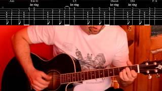 Пусть бегут неуклюже (Песенка крокодила Гены) |  Как играть на гитаре (разбор песни)