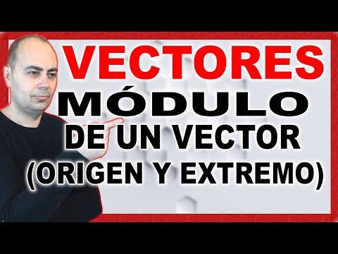 APRENDE a CALCULAR El MÓDULO De Un VECTOR (Origen y Extremo) | Geometría Analítica #3