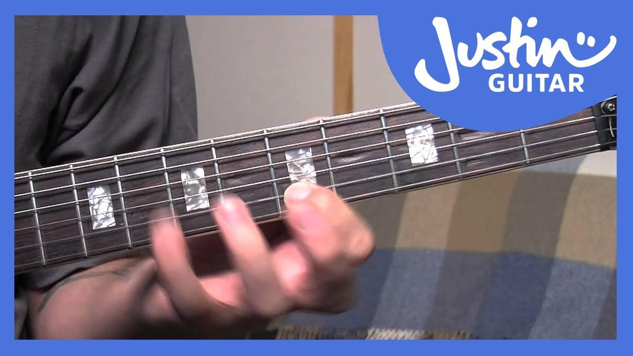 Re Harmonising Melody Notes Justinguitar