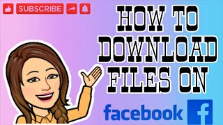 HOW TO DOWNLOAD FILE ON FACEBOOK | TUTORIAL screenshot 5