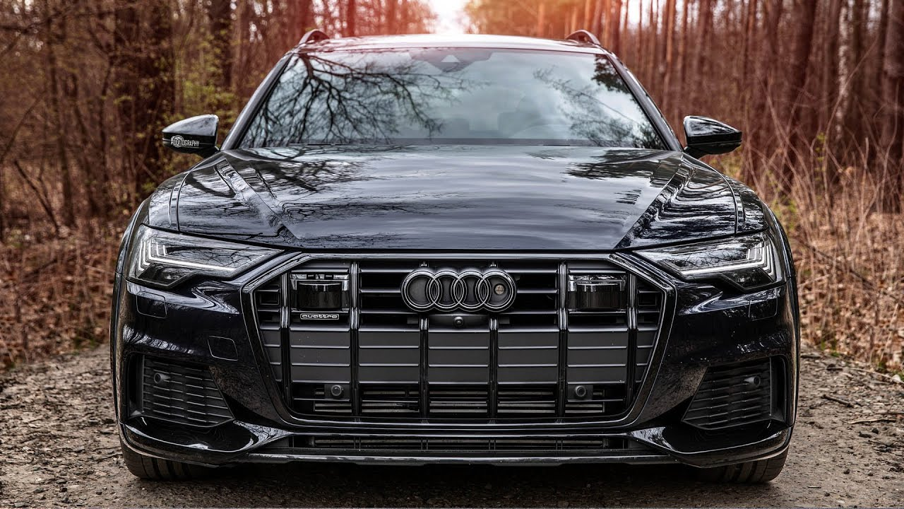 NEW! 2020/21 AUDI A6 ALLROAD - BEST GENERATION SO FAR? Looks great in black optics. In detail
