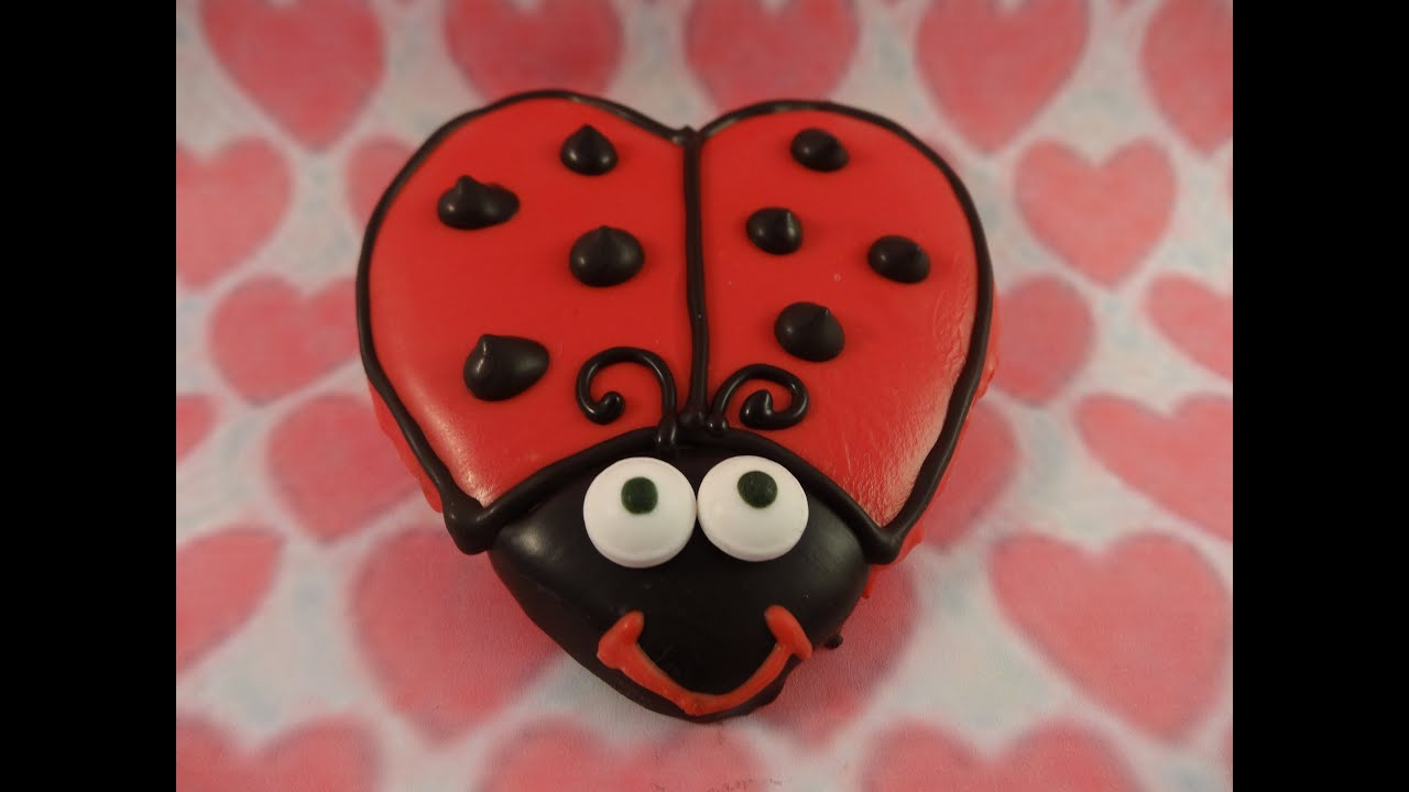 Valentines Day Love Bug Cookies With Yoyomax12 YouTube