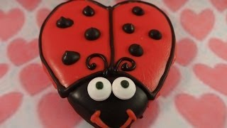 Valentine's Day Love Bug Cookies-with Yoyomax12