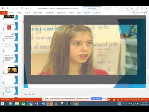 Embedding a YouTube video into PowerPoint