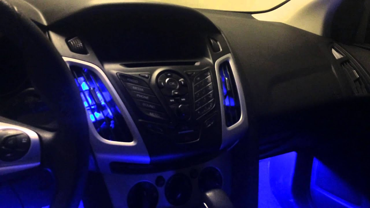 EverythingOutdoors Ford Focus 2014 Led Mod YouTube