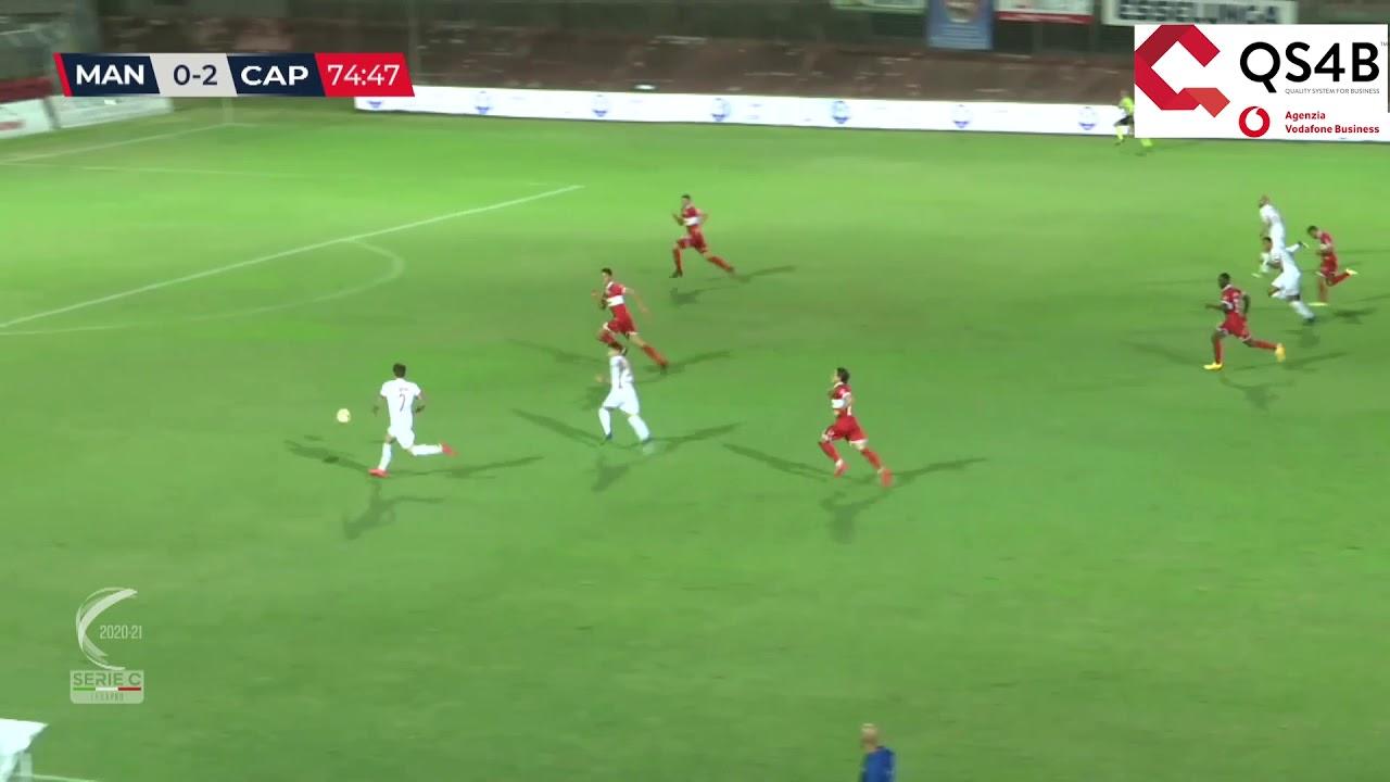 Mantova-Carpi 1-2, gli highlights