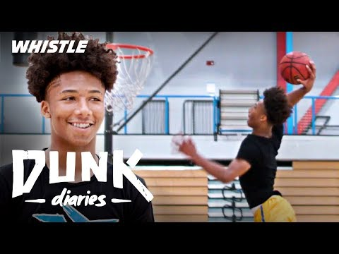 15-Year-Old Mikey Williams FUTURE NBA Dunk Contest CHAMP?