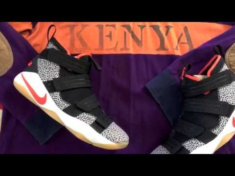 4e62ce8dc09 UNCLE SNEAKER  LeBRON SOLDIER XI  SAFARI  - YouTube
