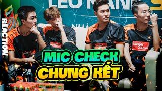 Bách Reaction Mic Check Chung Kết ĐTDV Mùa Xuân 2020 | XB Channel