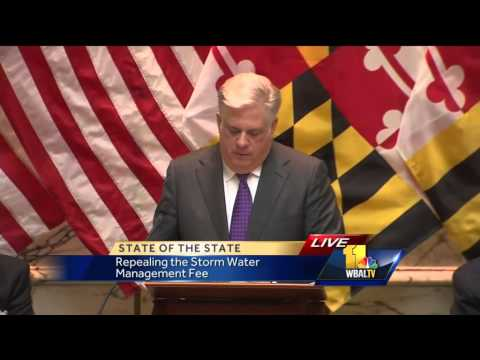 Watch Maryland Gov. Larry Hogan's 2015 State of the State address